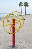Sport auf dem Strand Lizenzfreies Stockbild