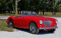 Sport-Auto Austin-Healy Lizenzfreies Stockfoto