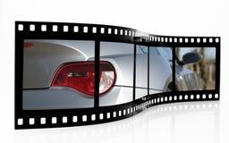 Sport-Auto-Film-Streifen Stockfotografie