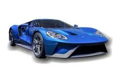 Sport-Auto getrennt Lizenzfreies Stockfoto