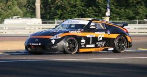 Sport-Auto-Le Mans-Stromkreis Stockbilder