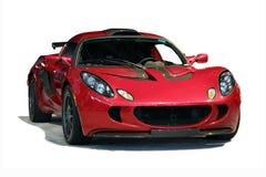 Sport-Auto lokalisiert Lizenzfreies Stockfoto