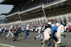 Sport-Auto, Mans-klassisches Rennen 24h Lizenzfreies Stockbild