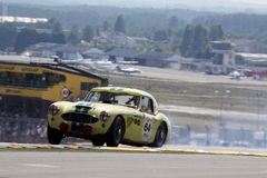 Sport-Auto, Mans-klassisches Rennen 24h Stockfotos