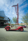 Sport-Auto 1934 Sänger-Le Manss 2-Seater Lizenzfreie Stockbilder