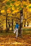 Sport in autumn Stock Photos