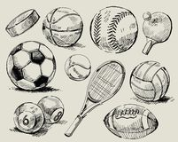 Sport background Stock Images