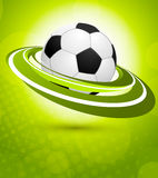 Sport background in green color Stock Photos