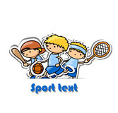 Sport background,vector Stock Photos