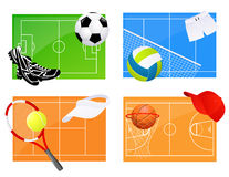 Sport backgrounds Royalty Free Stock Photos
