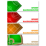 Sport backgrounds Stock Photography
