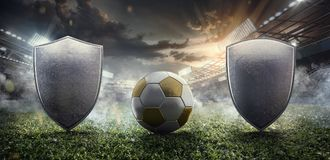 Sport Backgrounds. Soccer stadium. vector illustration