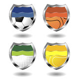 Sport badges Royalty Free Stock Photo