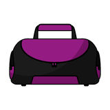 Sport bag gym isolated icon Royalty Free Stock Image