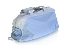 Sport bag isolated on white. And reflection Royalty Free Stock Photos