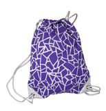 Sport bag purple Royalty Free Stock Photos