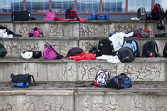 Sport Bags Royalty Free Stock Photo