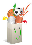 Sport ball Royalty Free Stock Photography