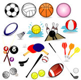 Sport balles Royalty Free Stock Photography