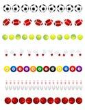 Sport balls Stock Image