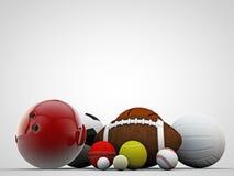 Sport balls Stock Photo