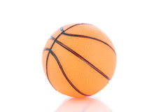 Sport balls, basketball isolated Royalty Free Stock Photos