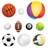Sport Balls Stock Images