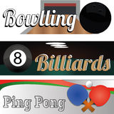 Sport balls. Different sports balls on special background Royalty Free Stock Images