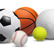 Sport balls Stock Photos