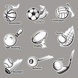 Sport balls set Royalty Free Stock Image