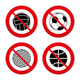 Sport balls. Volleyball, Basketball, Soccer Royalty Free Stock Image