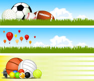 Sport banners Royalty Free Stock Photo