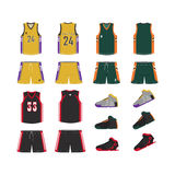 Sport-Basket-ball-uniforme photos libres de droits
