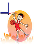 Sport basketball of  Stock Images