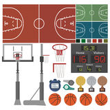 Sport-Basketball-Equipment Royalty Free Stock Photos