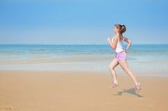 Sport on the beach Stock Photos
