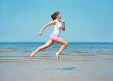Sport on the beach Stock Image