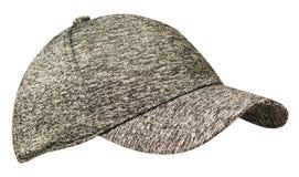 Sport bedeckt lokalisiert auf einem weißen Hintergrund mit einer Kappe Kappe mit Maske Lizenzfreie Stockbilder