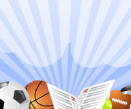 Sport bet banner vector Stock Photos
