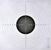 Obiettivo in bianco per concorrenza di fucilazione Fotografia Stock Libera da Diritti