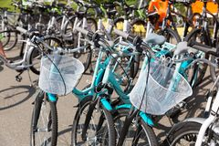 Sport bicycle Stock Image