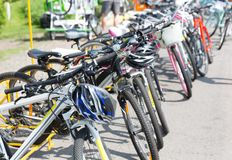 Sport bicycle Royalty Free Stock Photos