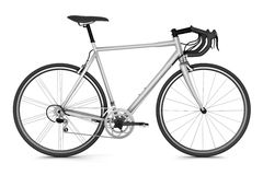 Sport bicycle isolated on white Stock Photos