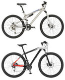 Sport  bicycle isolated on the white background with clipping pa Stock Photo