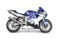 Sport bike. On white background Royalty Free Stock Image