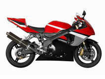 Sport-bike Stock Photography
