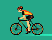 Sport Bike Cycling Royalty Free Stock Photography
