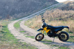 Sport bike for enduro Royalty Free Stock Photo