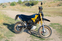 Sport bike for enduro Royalty Free Stock Image