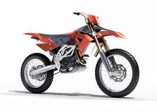 Sport bike enduro. Or trial close up on a light background with shadow Stock Photos